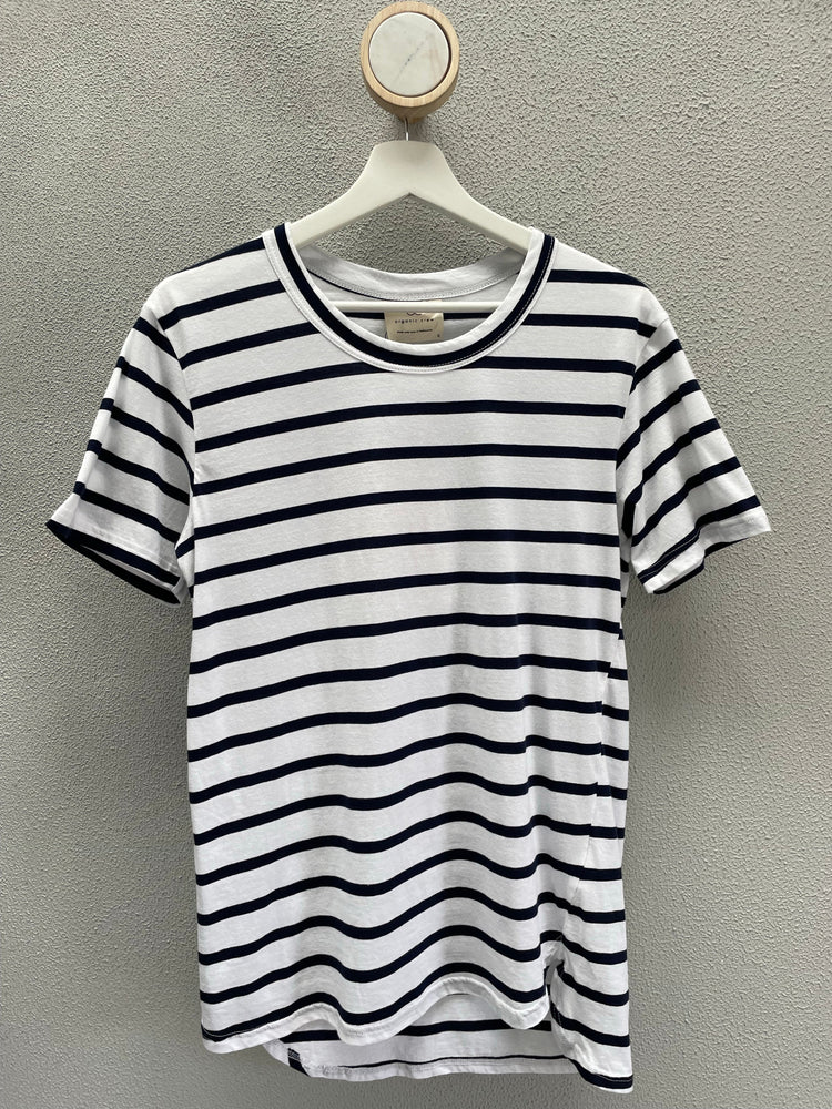 Load image into Gallery viewer, Boyfriend Sweater Pale Blue FEMINIST AF Sweater Organic Crew