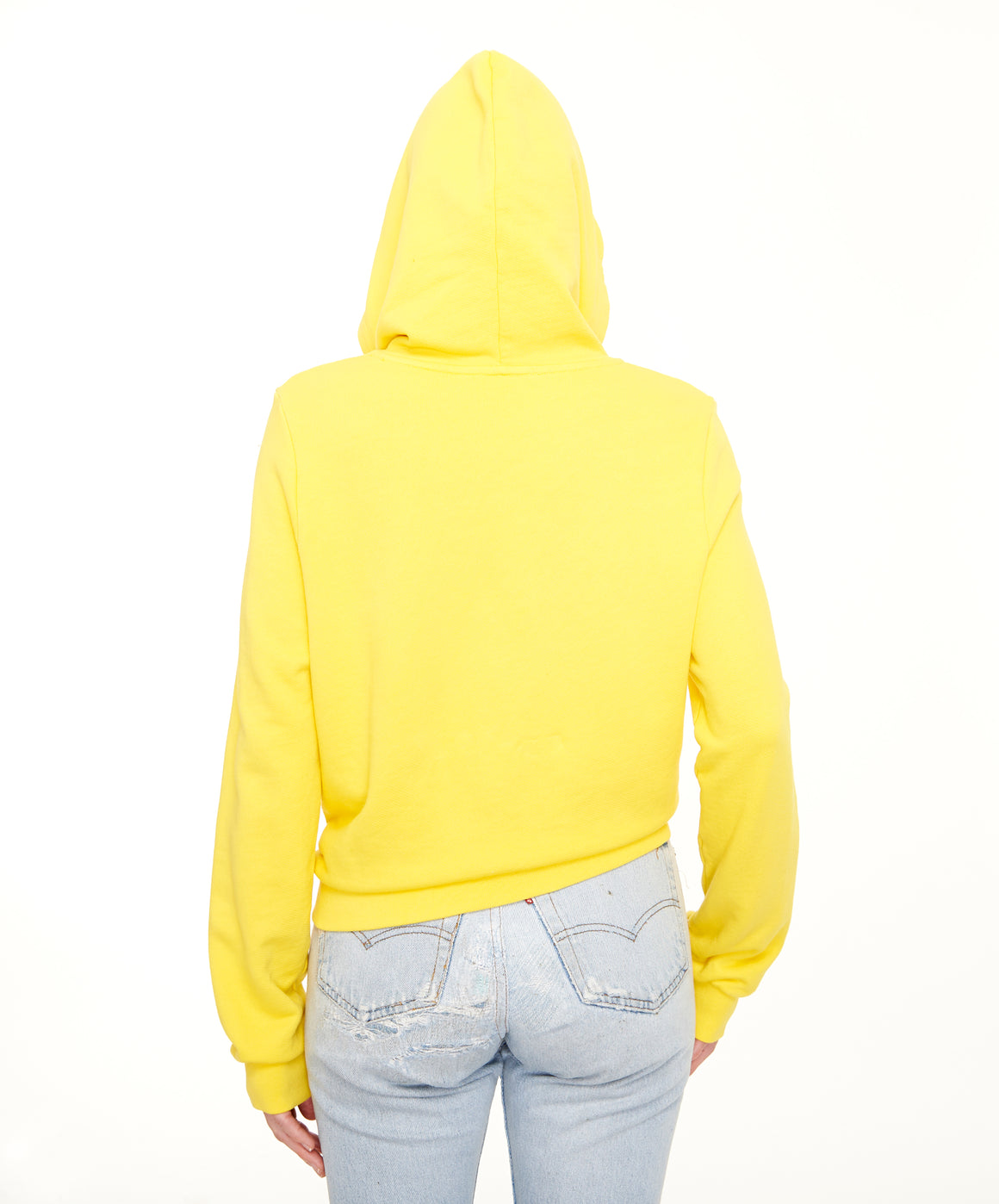 REPEL Clothing - Wear Your Voice!:Legal Alien Women's Crop Hoodie - REPEL Clothing, XS / Yellow