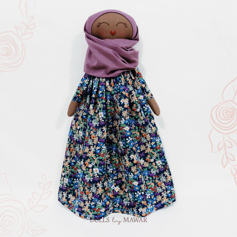 04 Pre-Order | Sofia Hijab Doll ~ Cotton Edition - DollsByMawar