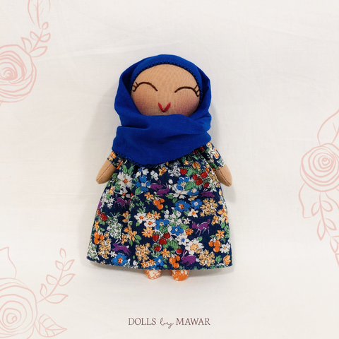 Aminah Hijab Doll ~ Dollhouse Doll #004