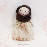 (Reserved for Gulzhan) Aminah Hijab Dollhouse Doll ~ Play Set #002