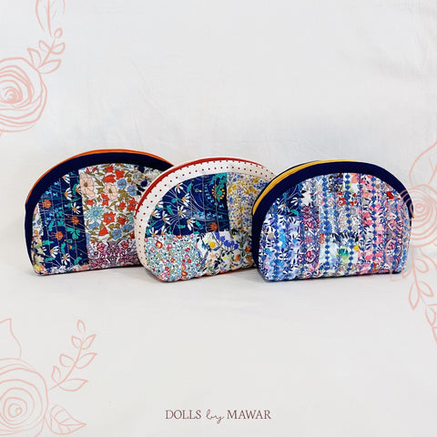 DollsByMawar Half Moon Log Pouch Liberty Limited Edition - DollsByMawar