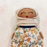RESERVED for Eliza | Petite Zahara Hijab Doll ~ Cotton Linen Edition #03