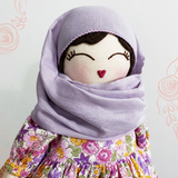 Petite Zahara Hijab Doll ~ Removable Clothing & Hijab