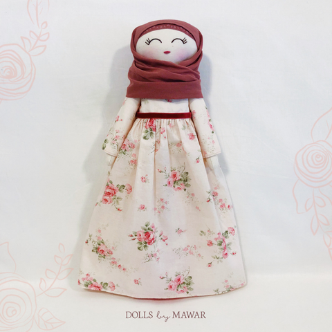 Sofia Rose Hijab Doll ~ Limited Edition