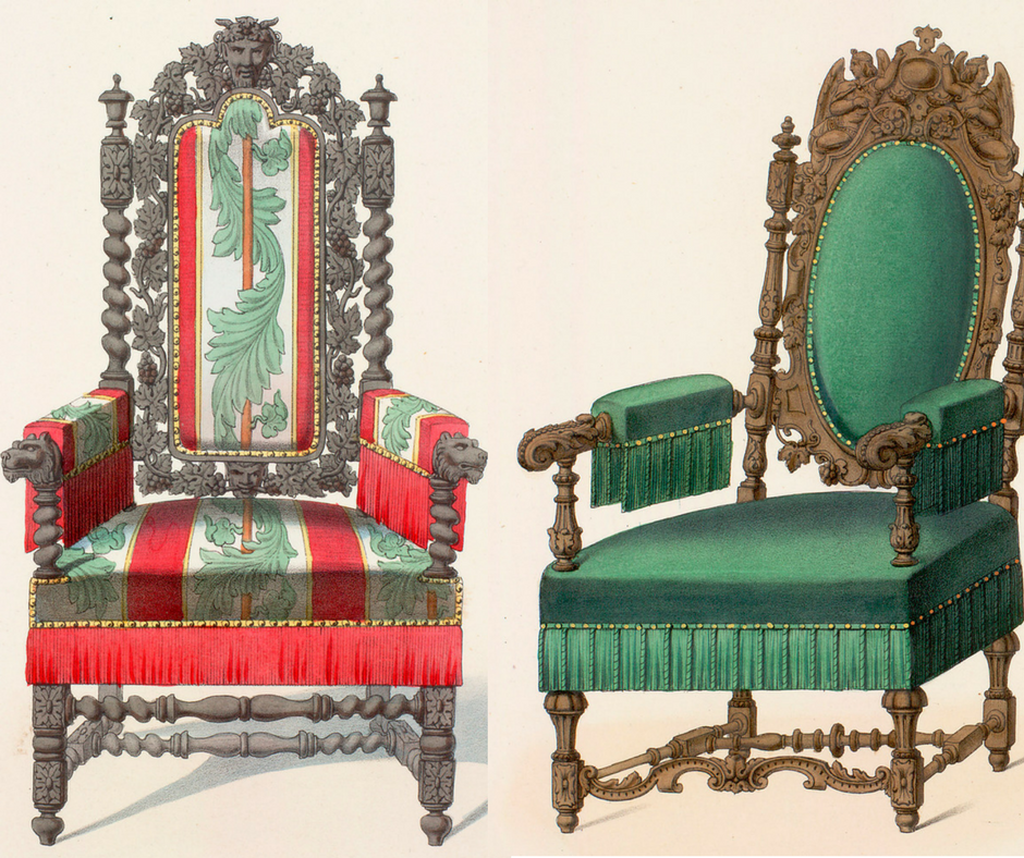 Antique Chair Styles: Louis XIII | EuropeanFinds