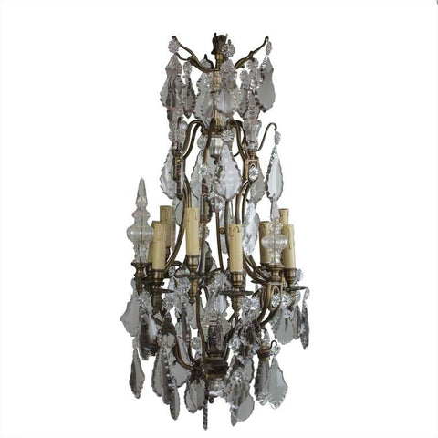 19th Century Antique Baccarat Chandelier