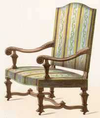 Superior Antique Chair Styles: Louis XIV