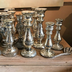 Antique Mercury Candlesticks | EuropeanFinds | Online Antique Warehouse