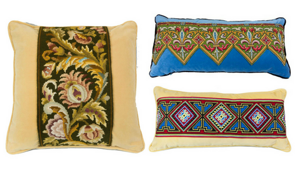 Antique Tapestry Pillows | European Finds | Online Antique Warehouse