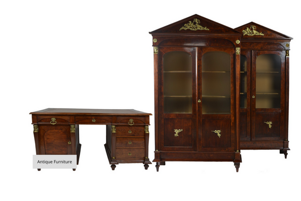 Early 19th Century Napoleonic Era Matching Bookcases | European Finds | Online Antique Warehouse
