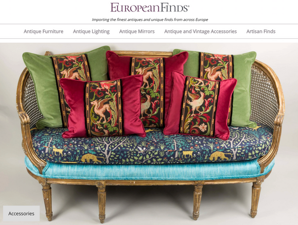 EuropeanFinds.com Online Antique Warehouse