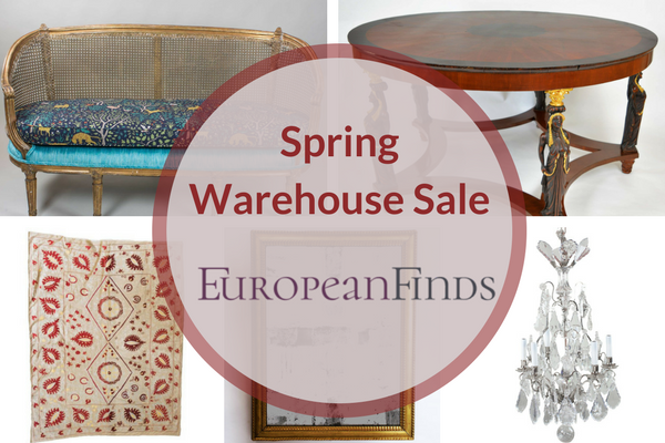 Take an additional 20% off all sale items April 1-7 #NoFooling | European Finds | Online Antique Warehouse