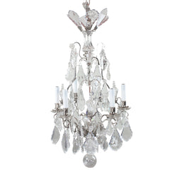 Antique 19th Century Large Baccarat Crystal Chandelier
