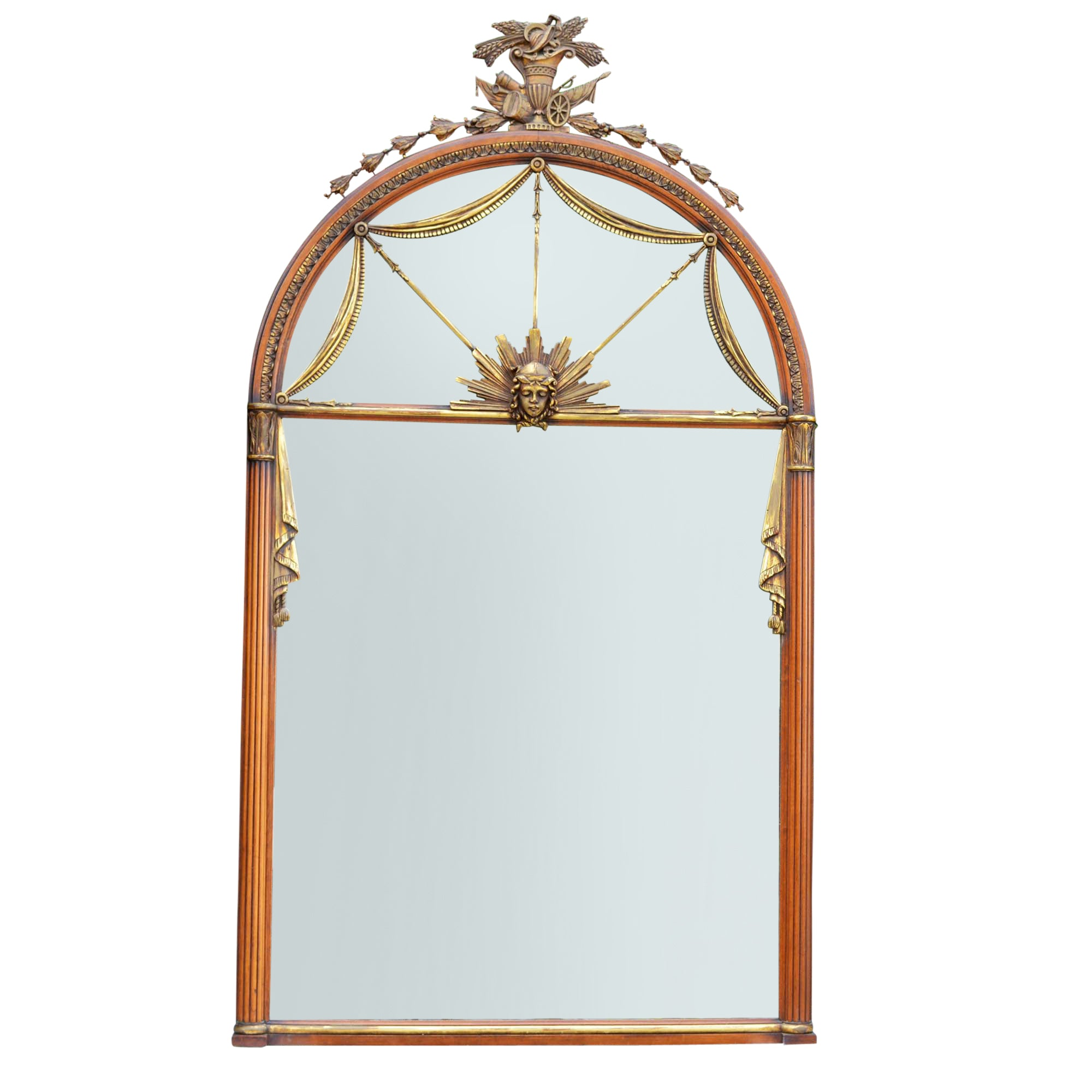 Large Neo-Classical Antique Mirror