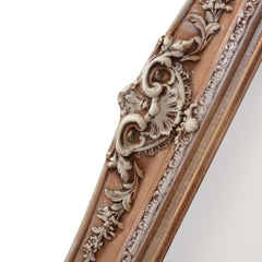 Antique Ornate Frames with New Mirrors Pair