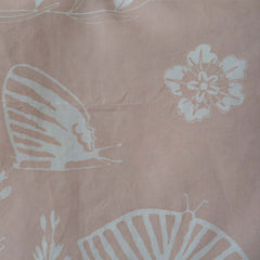 Artist Hand-Dyed Linen Fabric Light Sienna