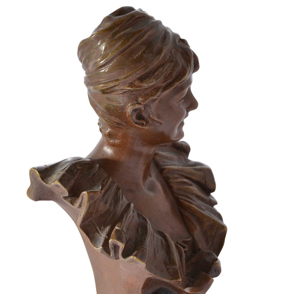 Bust from Model Pierrette by George Van der Straeten European Finds