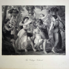 "Antique Print - ""The Vintage Festival"""