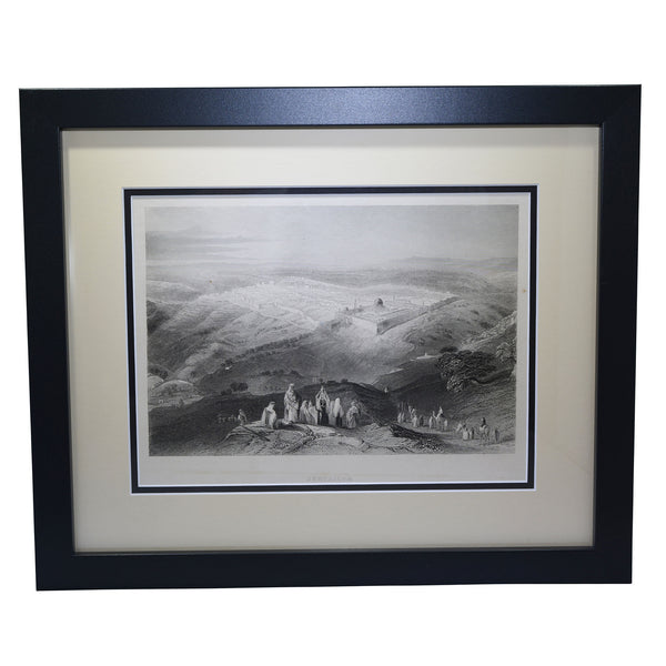 "Antique Print - ""Jerusalem"""