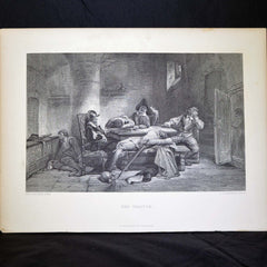 "Antique Print - ""The Traitor"""