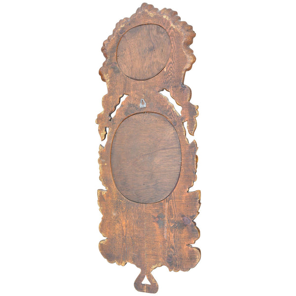 Spanish Baraoque Mirror Double European Finds Back