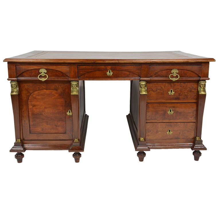 Early 19th Century Leather Top Desk