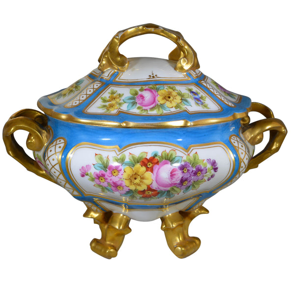 Fine Quality French Sèvres Porcelain Gravy Tureen