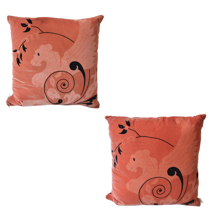 Designer Decorative Pillow Sphinx Design - Pair