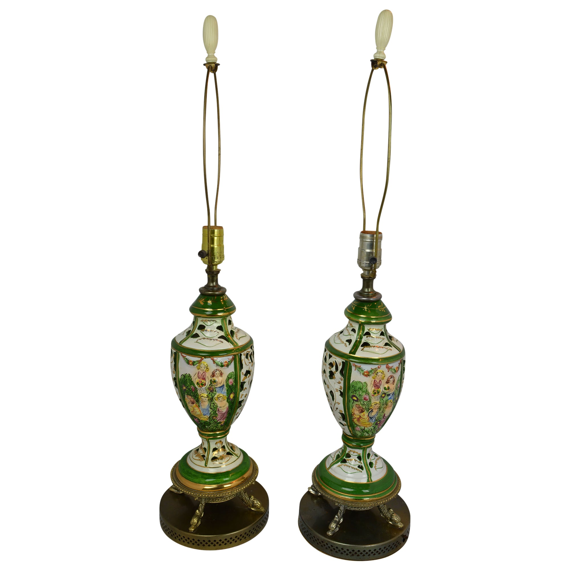 Capodimonte Lamps European Finds Main