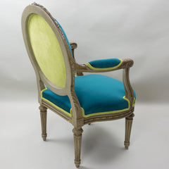 Antique Louis XVI Arm Chair European Finds Angle 3