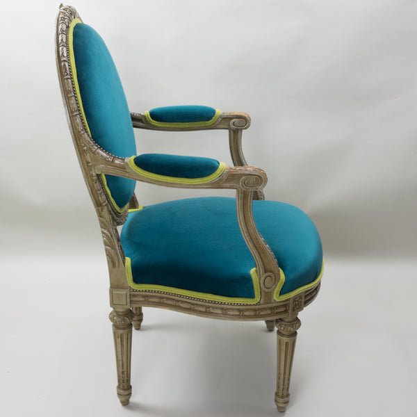 Antique Louis XVI Arm Chair European Finds Angle 5