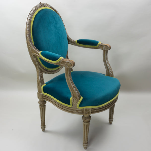 Antique Louis XVI Arm Chair European Finds Angle 4