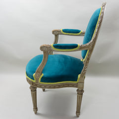 Antique Louis XVI Arm Chair European Finds