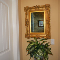Antique Scottish Gilt Gesso Mirror Daniel Miller Carver & Gilder