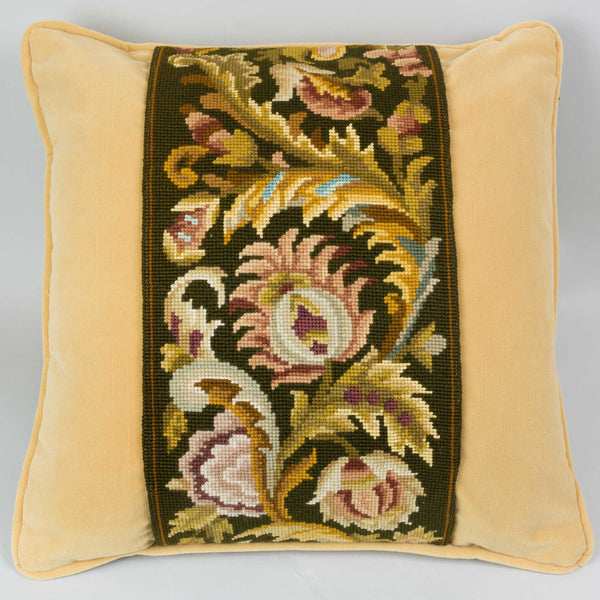 Tapestry Pillow European Finds
