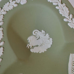 Wedgwood Green Clover Tray