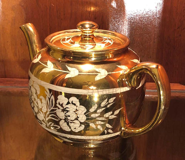 Sadler Gold Teapot