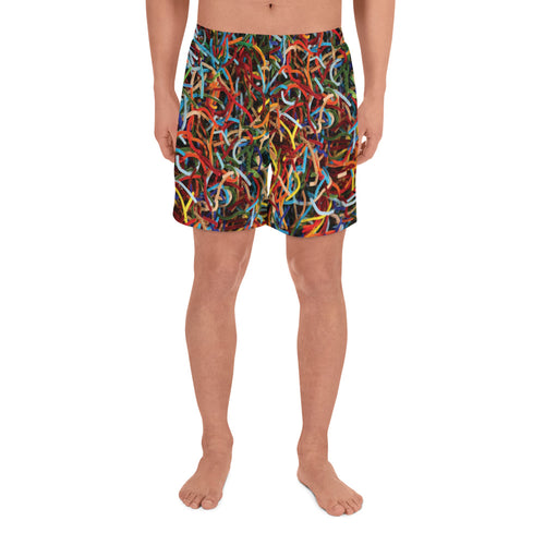 Positively Poppin' Fashion - Men's/Unisex Athletic Shorts - LOST MAPLES