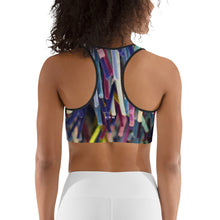 Positive Pop Fashion - Positive Pop Sports bra - BLUE MOON
