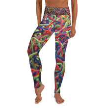 Positively Poppin' Fashion - Yoga Leggings - NEON GRASSES