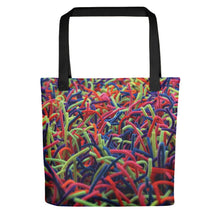 Positively Poppin' Accessories - Tote Bag - NEON GRASSES