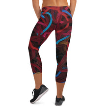 Positively Poppin' - Capri Leggings - ABUNDANCE
