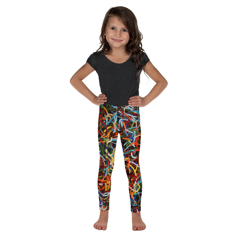 Positively Poppin' Fashion - Kids Leggings - LOST MAPLES