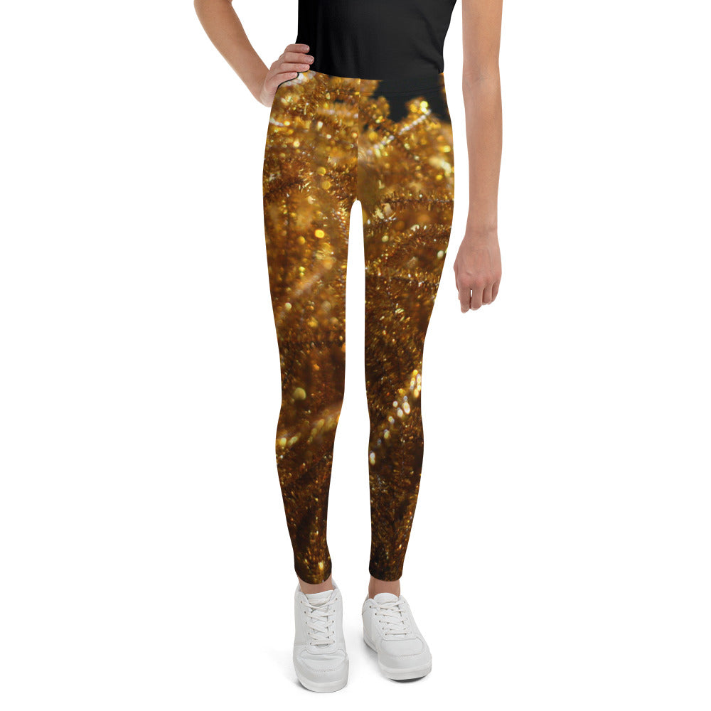 Positively Poppin' Fashion - Youth Leggings - FIREFLY