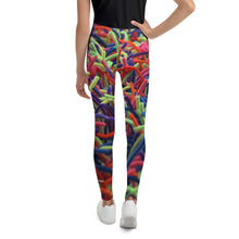 Positive Pop Fashion - Youth Leggings - NEON GRASSES
