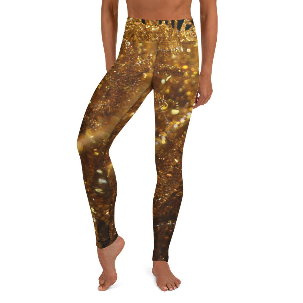 Positive Pop Fashion - Positive Pop Yoga Leggings - FIREFLY