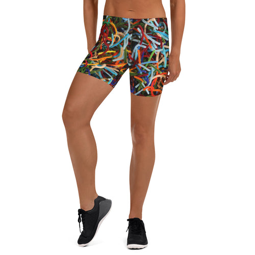 Positively Poppin' Fashion - Spandex Shorts - LOST MAPLES