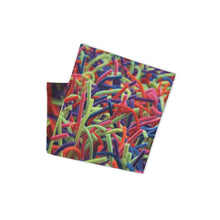 Positively Poppin' Accessories - Neck Gaiter - NEON GRASSES
