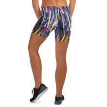 Positively Poppin' Fashion - Spandex Shorts - BLUE MOON